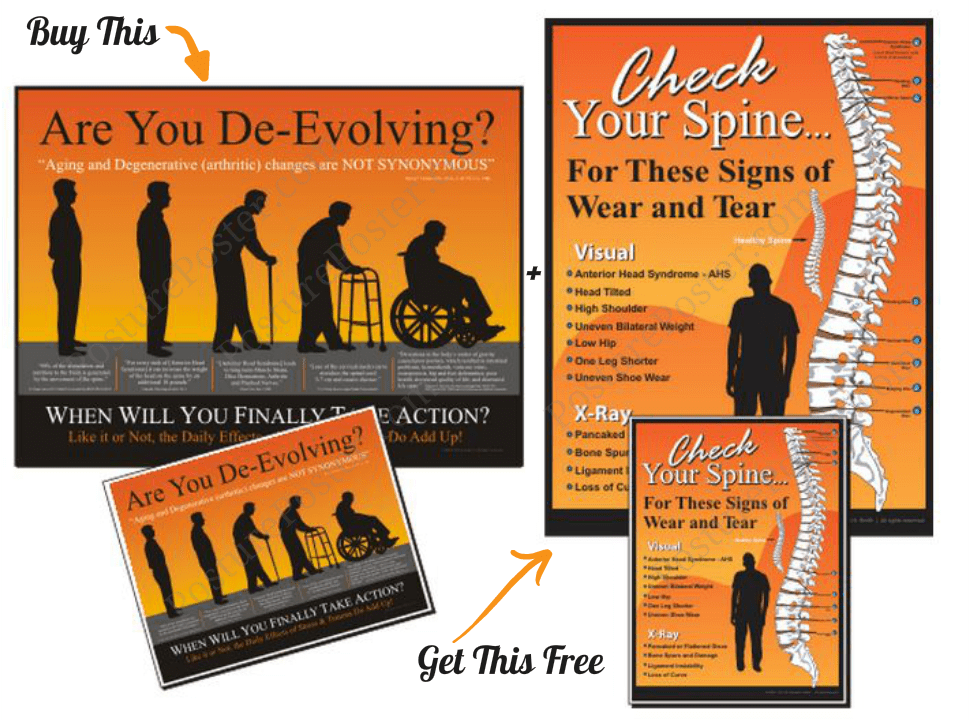 buy one posture poster get one free